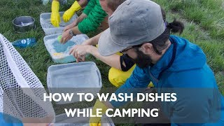 Download Leave No Trace Skills Series: Dishwashing for Frontcountry Video