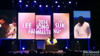 Download [Eng sub] 팬밋웁 FULL ver. (WOOBIN & JONGSUK @2014 LEE JONG SUK FANMEETING IN SEOUL) Video