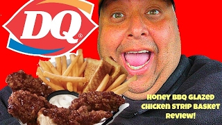 Download DQ® Honey BBQ Glazed Chicken Strip Basket Review!!! Video