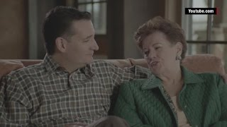 Download Watch Ted Cruz coach his family through a campaign ad shoot Video
