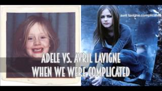 Download Adele vs. Avril Lavigne - When We Were Complicated (SimGiant Mash Up) Video