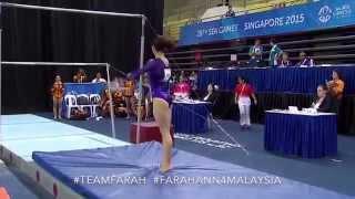 Download Malaysian gymnast Farah Ann Abdul Hadi's gold medal performance at the 28th SEA Games. Video