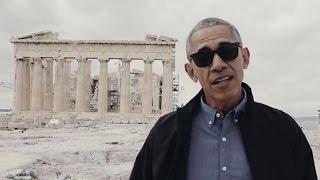 Download Barack Obama Tours Acropolis - Parthenon Athens, Greece Video