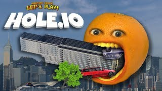 Download HOLE.IO - EATING SKYSCRAPERS!!! [Annoying Orange Plays] Video