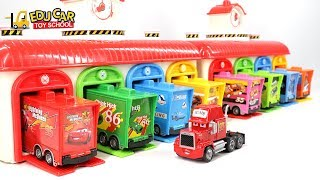 Download Learning Color Numbers With Special Disney Pixar Cars Lightning McQueen Mack Truck for kids car toys Video