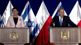 Download PM Netanyahu's Statement at Intergovernmental Consultations with Poland Video