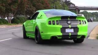 Download Mustangs leaving SIT Cobra Club ★ Parkway Ford Show 2016 Video