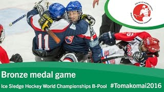 Download Bronze medal game| 2016 Ice Sledge Hockey World Championships B-Pool, Tomakomai Video