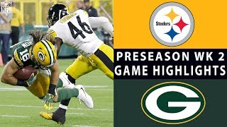 Download Steelers vs. Packers Highlights | NFL 2018 Preseason Week 2 Video