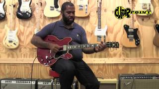 Download Kirk Fletcher plays a 1963 Gibson ES-335 CH at GuitarPoint Maintal / Vintage Guitars Video