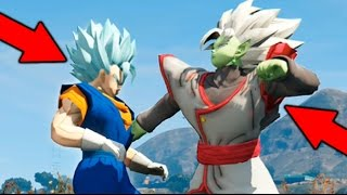 Download GTA V MOD VEGETO BLUE VS ZAMASU BATALLA EPICA !! DRAGON BALL SUPER GTA V MODS Makiman Video
