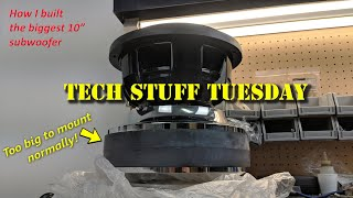 Download I built the biggest 10″ subwoofer, here's how - Tech Stuff Tuesday Video