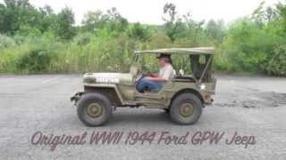 Download Original WWII 1944 FORD GPW- Offered for sale at ima-usa Video