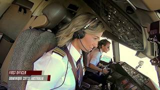 Download Female pilots flying high around the world | Airbus A380 | Boeing 777 | Emirates Airline Video