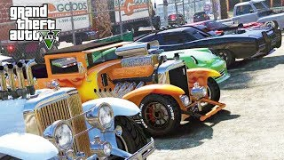 DOJ Cops Role Play Live - Old School Muscle Car! (Criminal