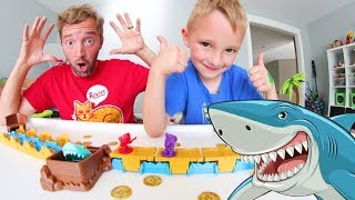 Download Father & Son PAY SHARK MANIA! / Don't Get Eaten! Video