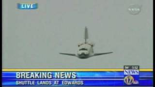Download Space Shuttle, Best view of shuttle landing Ive ever seen ! Video
