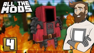 Download Minecraft All The Mods #4 - FOREST FIRE! Video