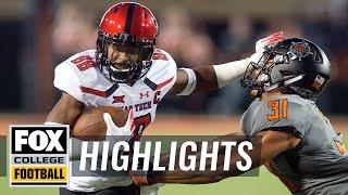 Download Oklahoma State vs. Texas Tech   FOX COLLEGE FOOTBALL HIGHLIGHTS Video