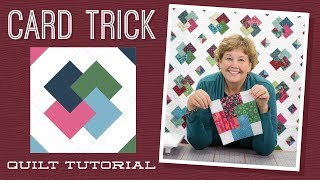 Download Make a ″Card Trick″ Quilt with Jenny! Video