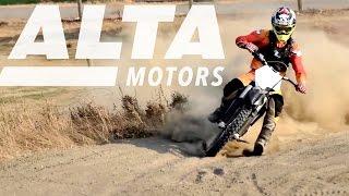 Download Alta Motors All-Electric Motorbikes Video