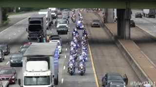 Download (HD) Lance Cpl. Squire ″Skip″ Wells procession on Interstate 75 from airport Video