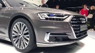 Download 2018 Audi A8 L quattro walkaround at Frankfurt Motor Show 2017 Video