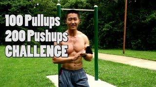 Download 100 pullups 200 pushups CHALLENGE! Video