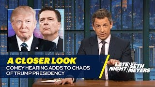 Download Comey Hearing Adds to Chaos of Trump Presidency: A Closer Look Video