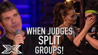Download When Judges SPLIT GROUPS On X Factor UK! | X Factor Global Video