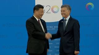 Download Reception of G20 leaders by President Mauricio Macri (Part 1) Video