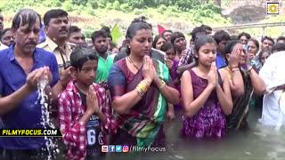 Download Actress Roja Family Unseen Video - Holy Dip At Krishna Pushkaralu - Filmyfocus Video