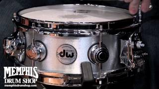 Download DW 10 x 4.5 Collector's Series Aluminum Wrinkle Snare Drum Video