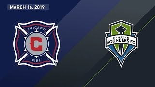 Download Chicago Fire vs. Seattle Sounders FC | HIGHLIGHTS - March 16, 2019 Video