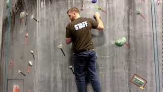 Download Rock Climbing Techniques - Climbing Tips Lesson 2 - Positioning & Flagging Video