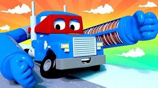 Download Carl der Super Truck - Der Heizstrahler Lastwagen - Lastwagen Zeichentrickfilme für Kinder 🚓 🚒 Video