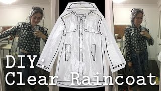 Download DIY: Clear PVC Raincoat Video