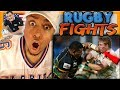 Download AMERICAN FIRST TIME WATCHING RUGBY! CRAZIEST HITS & FIGHTS Reaction Goals O'Driscoll leigh halfpenny Video