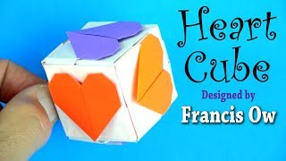 Download Origami Heart Cube by Francis Ow Video