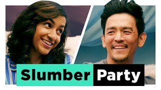 Download Celebrity Slumber Party with John Cho Video