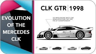 Download Evolution Of The Mercedes-Benz CLK (1997-2009) Video