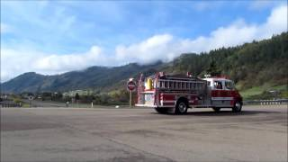 Download Tri City Fire responding Code 3 for a railroad boxcar fire Video