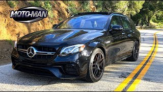 Download 2018 Mercedes AMG E63s Station Wagon FIRST DRIVE REVIEW (2 of 2) Video
