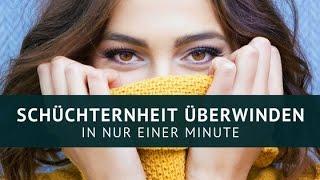 Download Schüchternheit überwinden in nur EINER MINUTE!!! Video