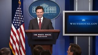 Download 12/01/16: White House Press Briefing Video