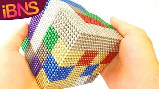 Download Playing with 10000 mini magnetic balls! (Oddly Satisfying, ASMR & 10000 buckyballs!) Video