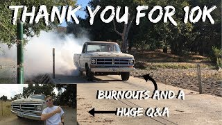 Download 10,000 Subs! Thank you! BIG Q&A and Burnouts! Video