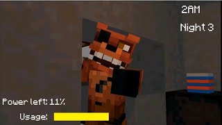 Download (FNaF Minecraft pe) RP. Night 2 FOXYS AGGRESSIVE!!!!!! Video