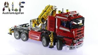 Download Lego Technic 8258 Crane Truck - Lego Speed Build Review Video