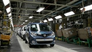 Download Renault Kangoo production at the Maubeuge Plant, France Video